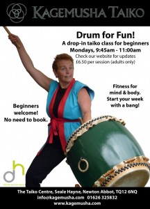 Drum for Fun @ The Taiko Centre | United Kingdom