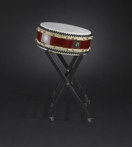 Hira-Daiko-drum-with-stand-high-Kaiser-Drums