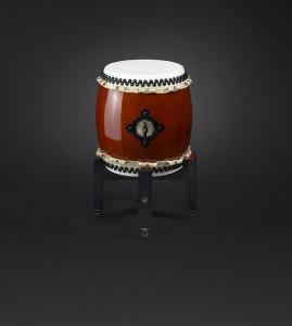Small-Miya-Daiko-drum-with-high-stand-Kaiser-Drums