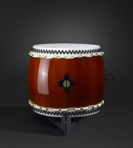 Small-Odaiko-drum-small-with-stand-Kaiser-Drums