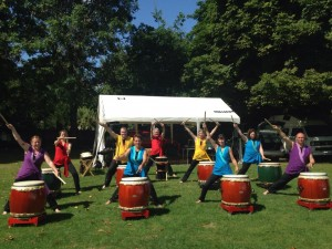 Tano Taiko at the Exeter Rainbow Run @ Westpoint | Clyst Saint Mary | England | United Kingdom