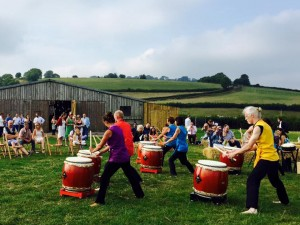 Tano Taiko at the RAMM's 150th Anniversary Celebrations @ Rougemont Gardens Exeter | England | United Kingdom