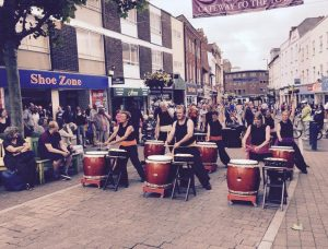Tano Taiko at South Molton Winter Solstice @ South Moulton